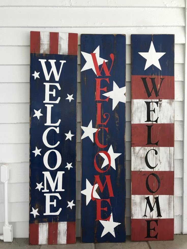 wooden American Hat 4th of July decor Rustic American front porch hat Wooden Sign patriotic decor primitive front door sign USA