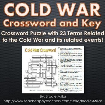 Cold war crossword puzzle and key 23 terms and clues world cold war crossword puzzle and key 23 terms and clues a 23 term ccuart Gallery