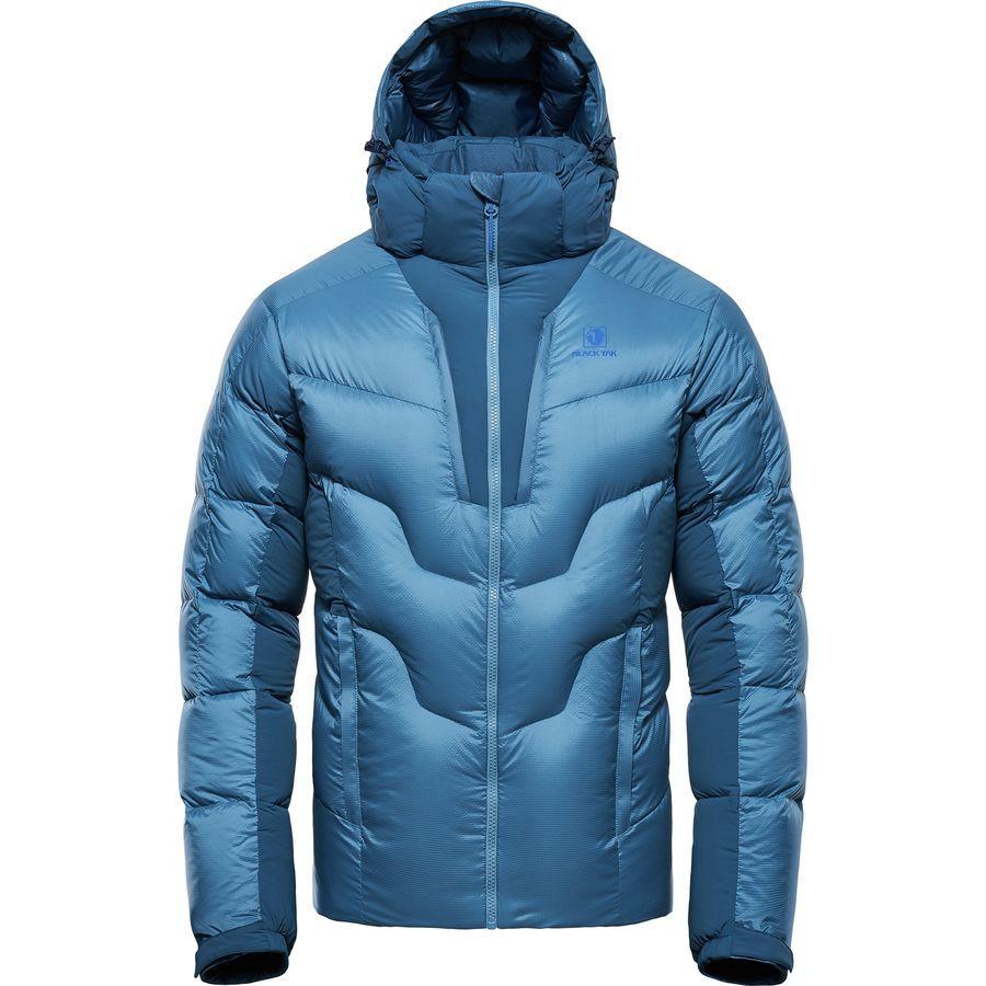 Black Yak Maiwa Athletic Down Jacket Men S Provincial Blue Cool Jackets For Men Jackets Men Fashion Jackets [ 900 x 900 Pixel ]