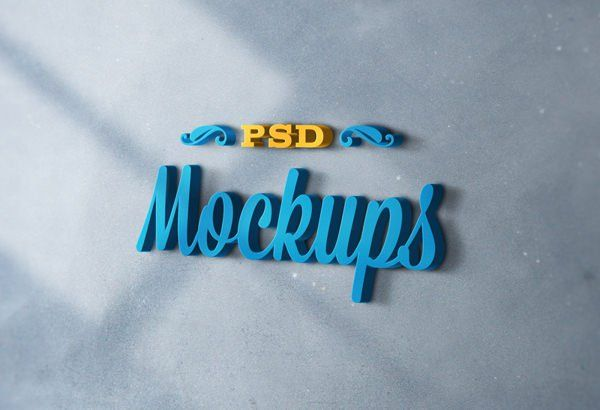 58 Free Logo Mockup Psd Templates For Designer Web Resources Free Free Logo Mockup Free Logo Mockup Psd Logo Mockups Psd
