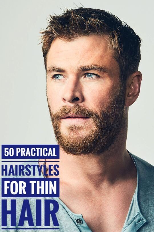 50 Practical Hairstyles for Men with Thin Hair hair  ...