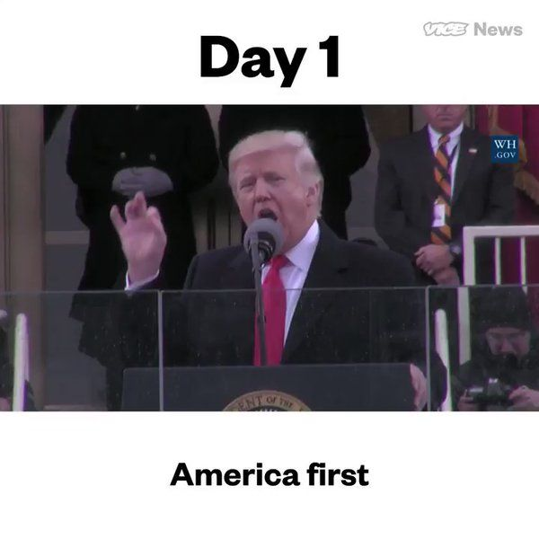 A quick recap of Trump's first 100 days as president https://t.co/kFRjUDU8ZS   VICE News (vicenews) April 30 2017  #MerchantCashAdvance