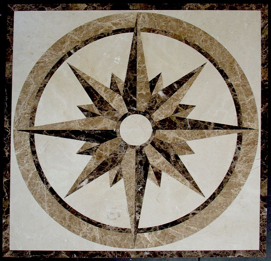 Ceramic Tile For Your Upcoming Project Floor Medallion