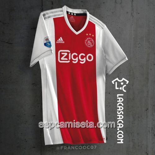 Nueva Camiseta Primera Tailandia Ajax 2017 2018  0bb3d5562b190