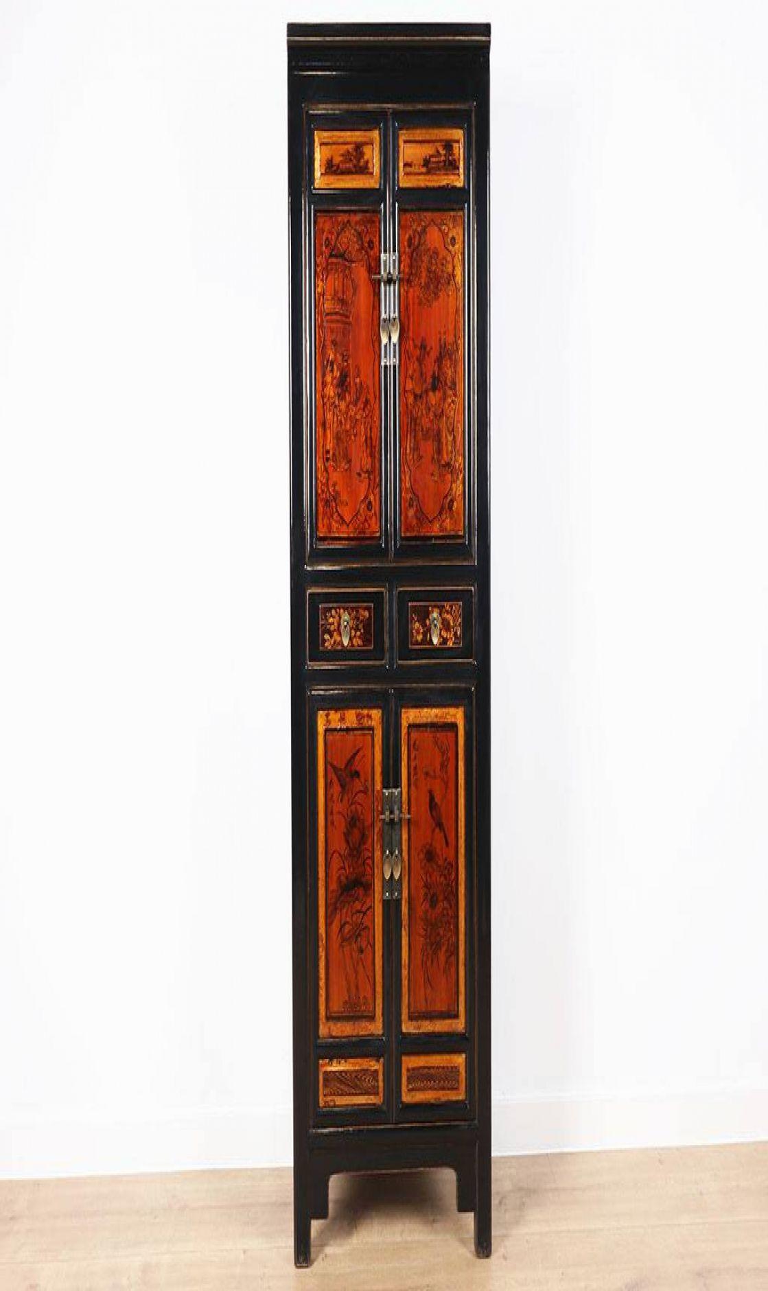 Orientalisch Chinesischer Schrank Bemalung Orientalisch Asiatisch In 2020 Orientalisch Shabby Chic Schrank Schrank Design