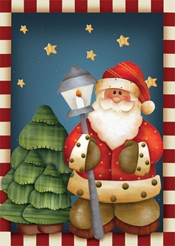 Pinturas De Papa Noel Buscar Con Google Cuadros De Navidad Pinturas De Navidad Manualidades Navidenas