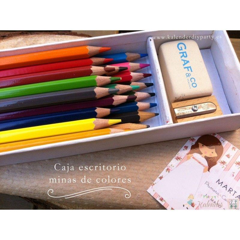 Lápices personalizados Primera Comunión.