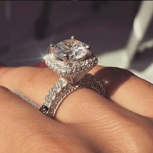 Dream Wedding Rings | Pin By Crystal On Jewelry In 2018 Pinterest Engagement Rings