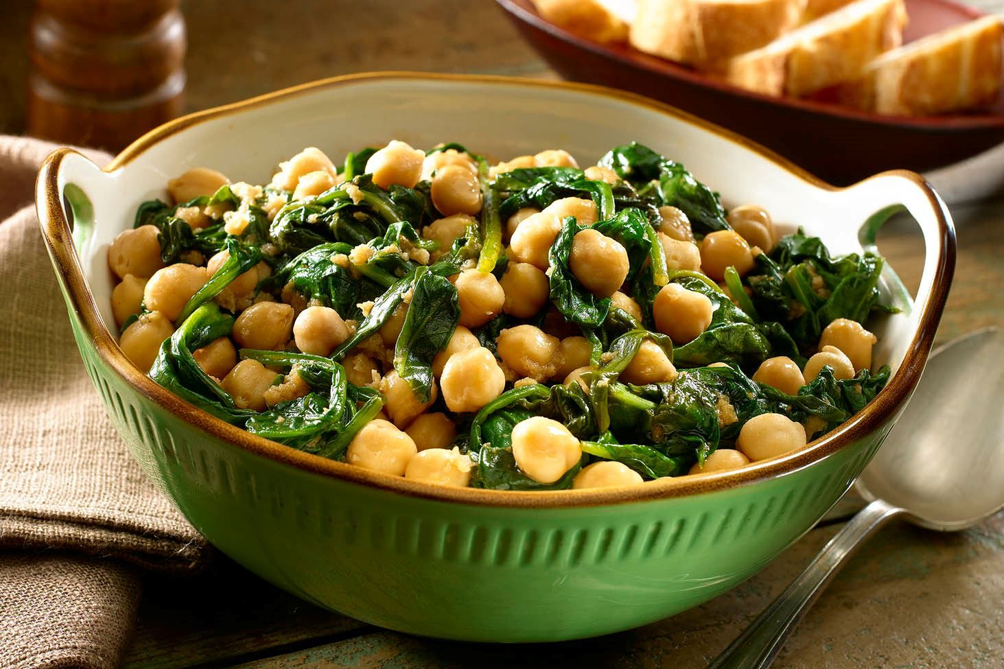 Spanish Chickpeas With Spinach