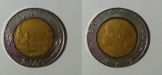 bec08ec805 Vediamo quali sono i valori delle diverse monete da 500 lire in argento,  bimetalliche e
