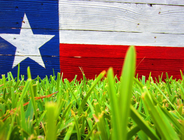 Texas Flag Rustic Sign. $28.00, via Etsy.