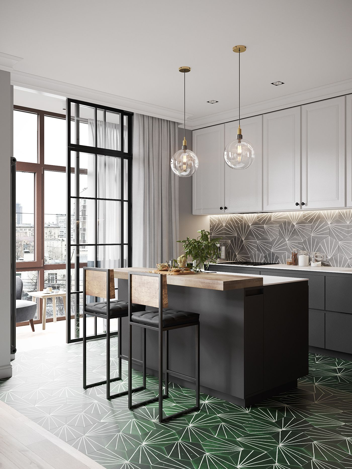 Esszimmer mit küche pin von lea  auf wohnen  pinterest  haus küchen küchen design
