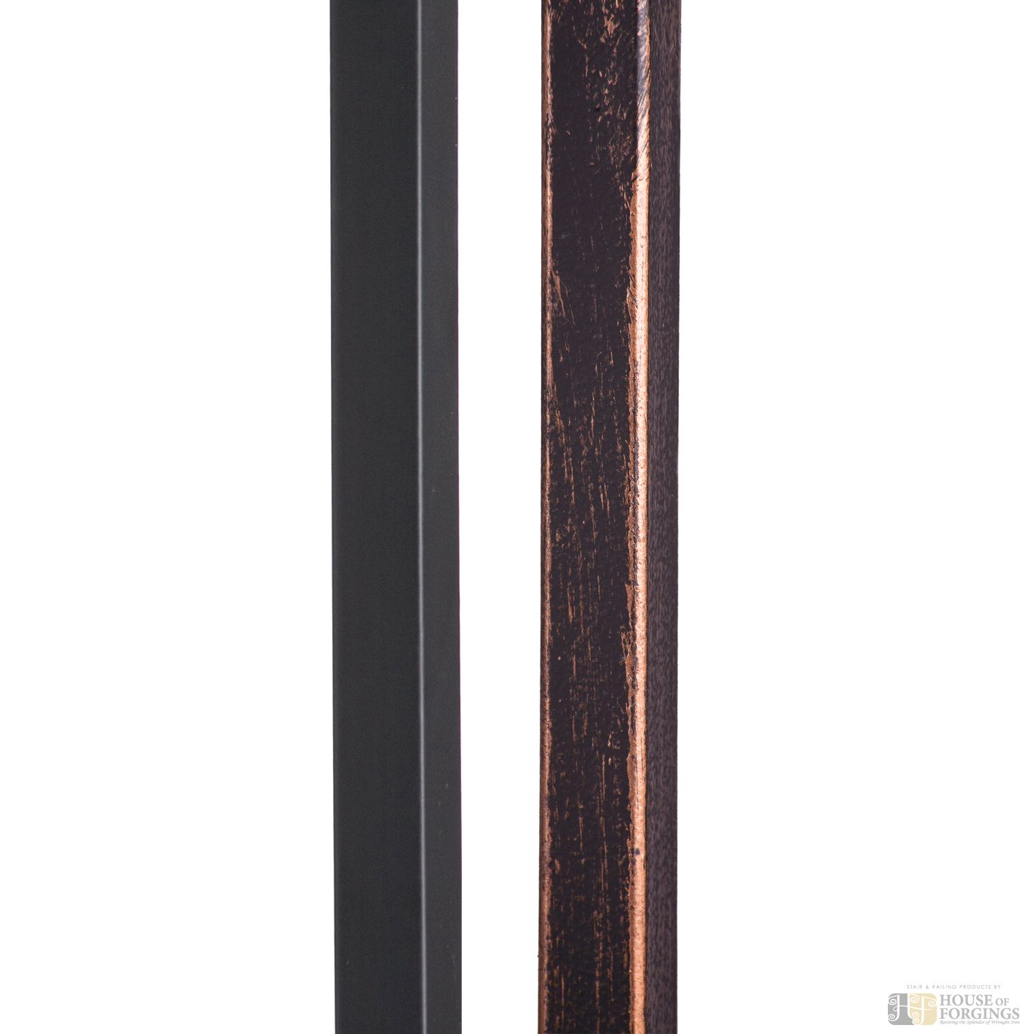 Best House Of Forgings Square Hollow Plain Baluster Iron 400 x 300