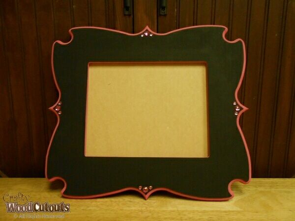 Unfinished Cheeky Frame Wood Craft This Craft Is Available In Three Different Sizes 5x7 8x10 And 11x14 And Costs 15 59 Design Crafts Wood Crafts Crafts