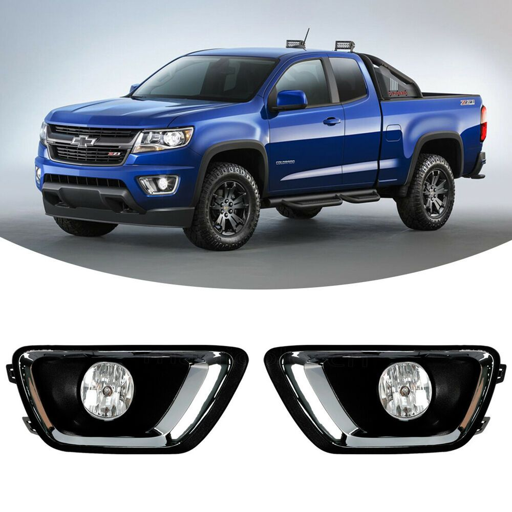 Fit for 2015-2018 Chevy Colorado Pickup Car Fog Lamp Driving Light Wiring+Switch  #MAGICOLOR in 2020 | Chevy colorado, Chevy, Pickup carPinterest