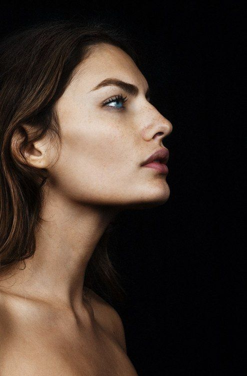 Pin de Masha Bredikhina en fashion | Pinterest | Retrato, Rostros y ...
