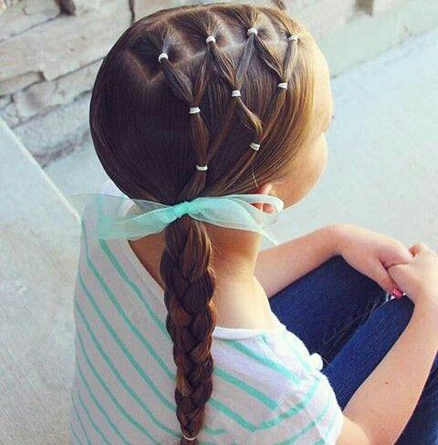 Peinados Escolares Pelo De Ninas Peinados Escolares Faciles Peinado Con Ligas