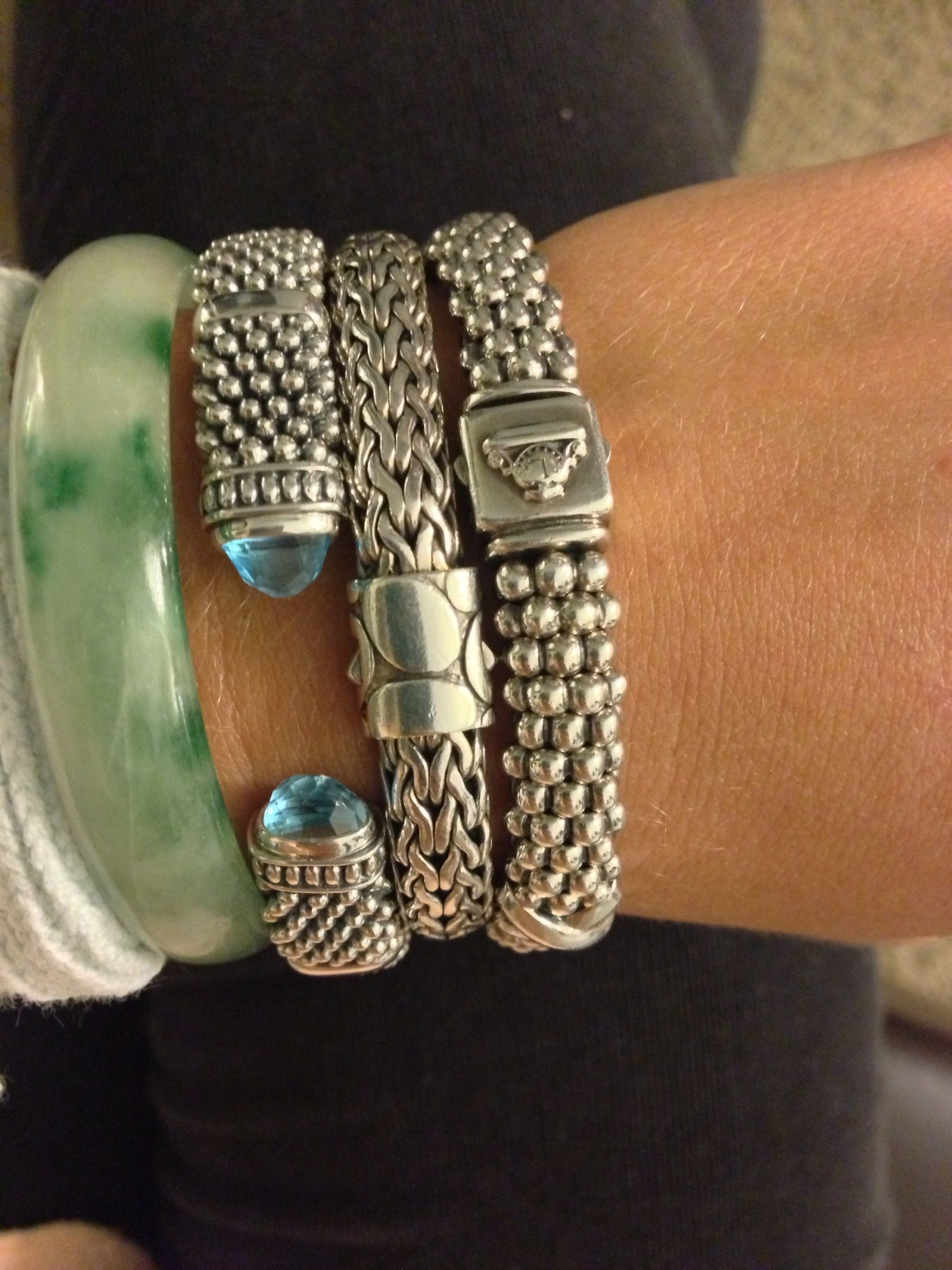 Lagos; John Hardy; Bracelet Obsession Fashion Style In