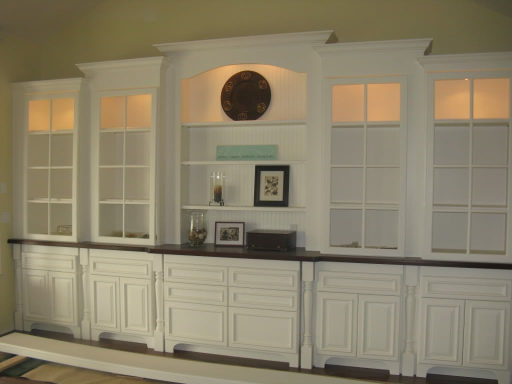 dining room walls - Dining Room Wall Cabinets