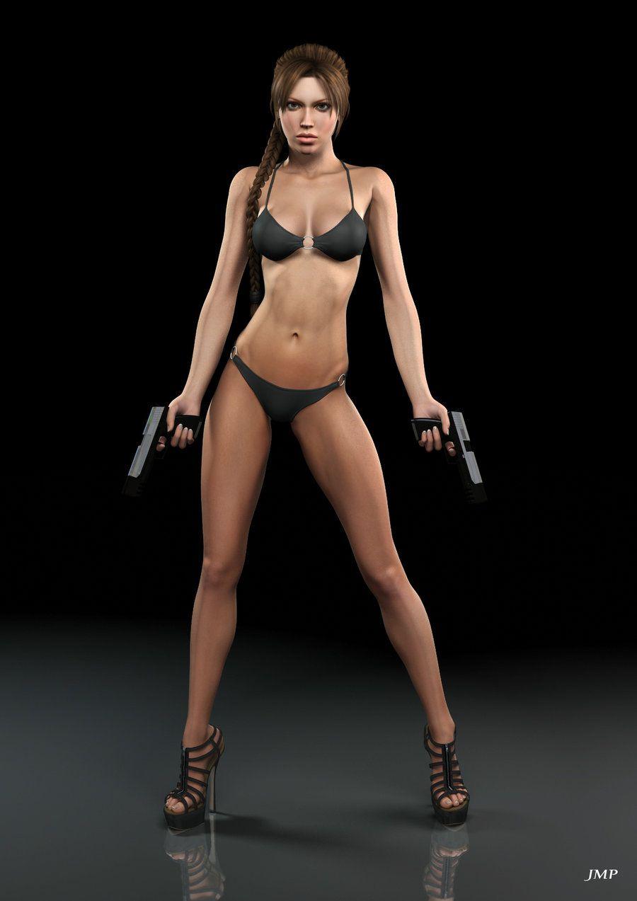 render 3d Sexy girl