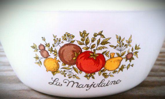 Vintage Corningware La Marjolaine Cooking by AmandolynCozyCottage, $14.00