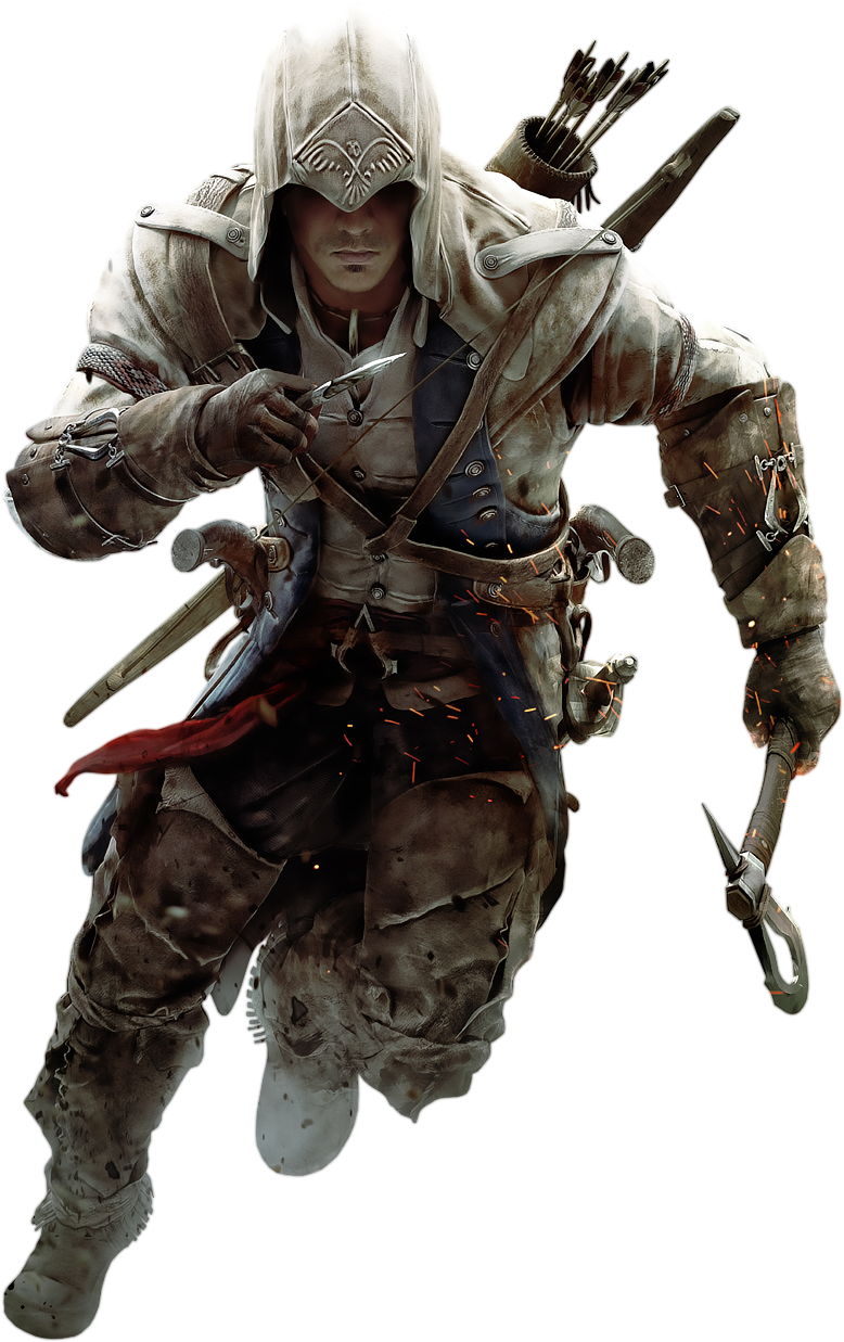 Assassin's Creed III - Connor Kenway 2 by IvanCEs.deviantart.com on @DeviantArt