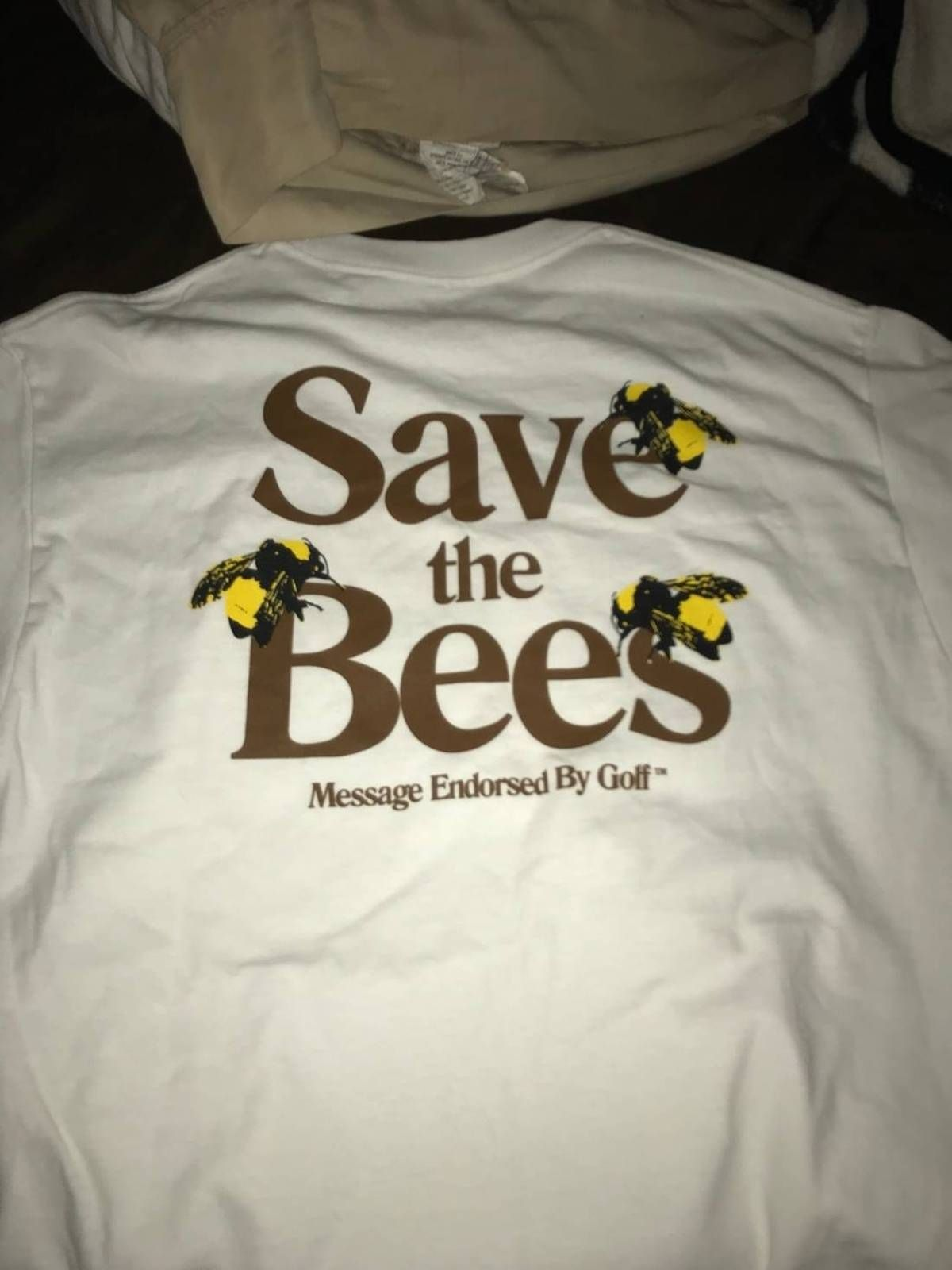 3421bdf8ee66 Golf Wang Save The Bees Size l - Short Sleeve T-Shirts for Sale - Grailed