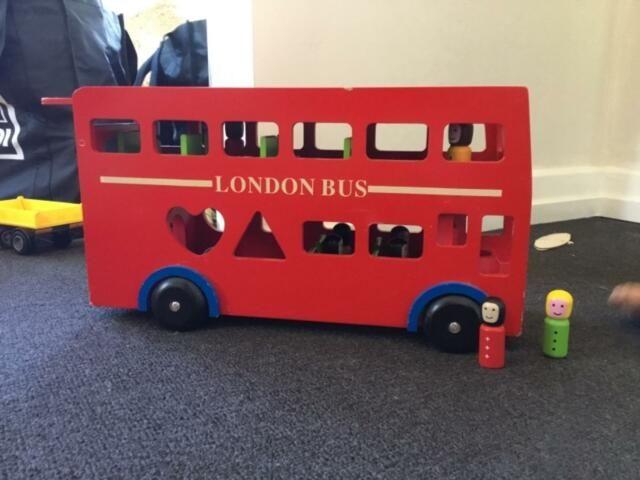 Wooden London Bus Toys Indoor Gumtree Australia Brisbane South