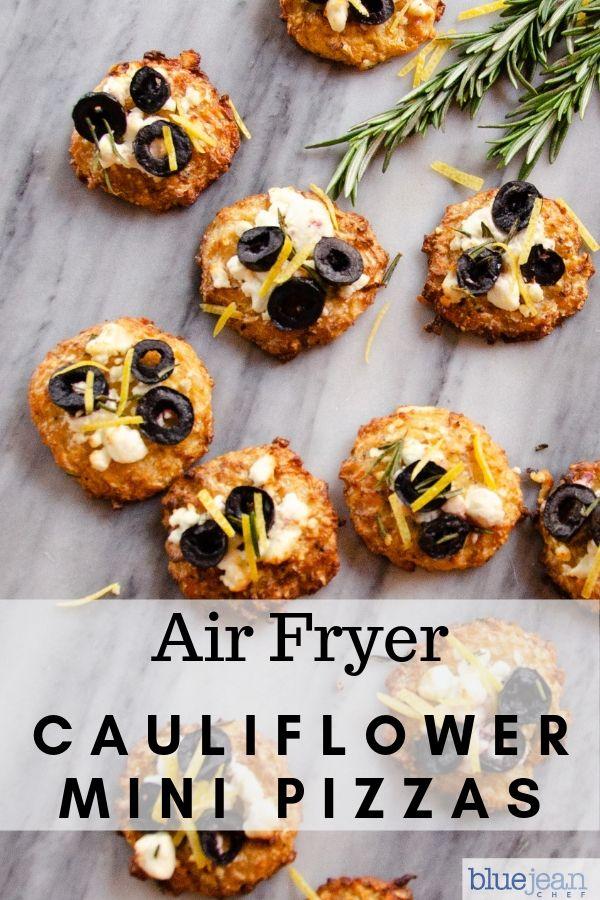 Cauliflower Pizza Bites Recipe Low Carb, Keto