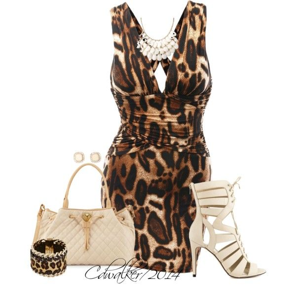 Leopard Doublju, created by charlottewalker on Polyvore