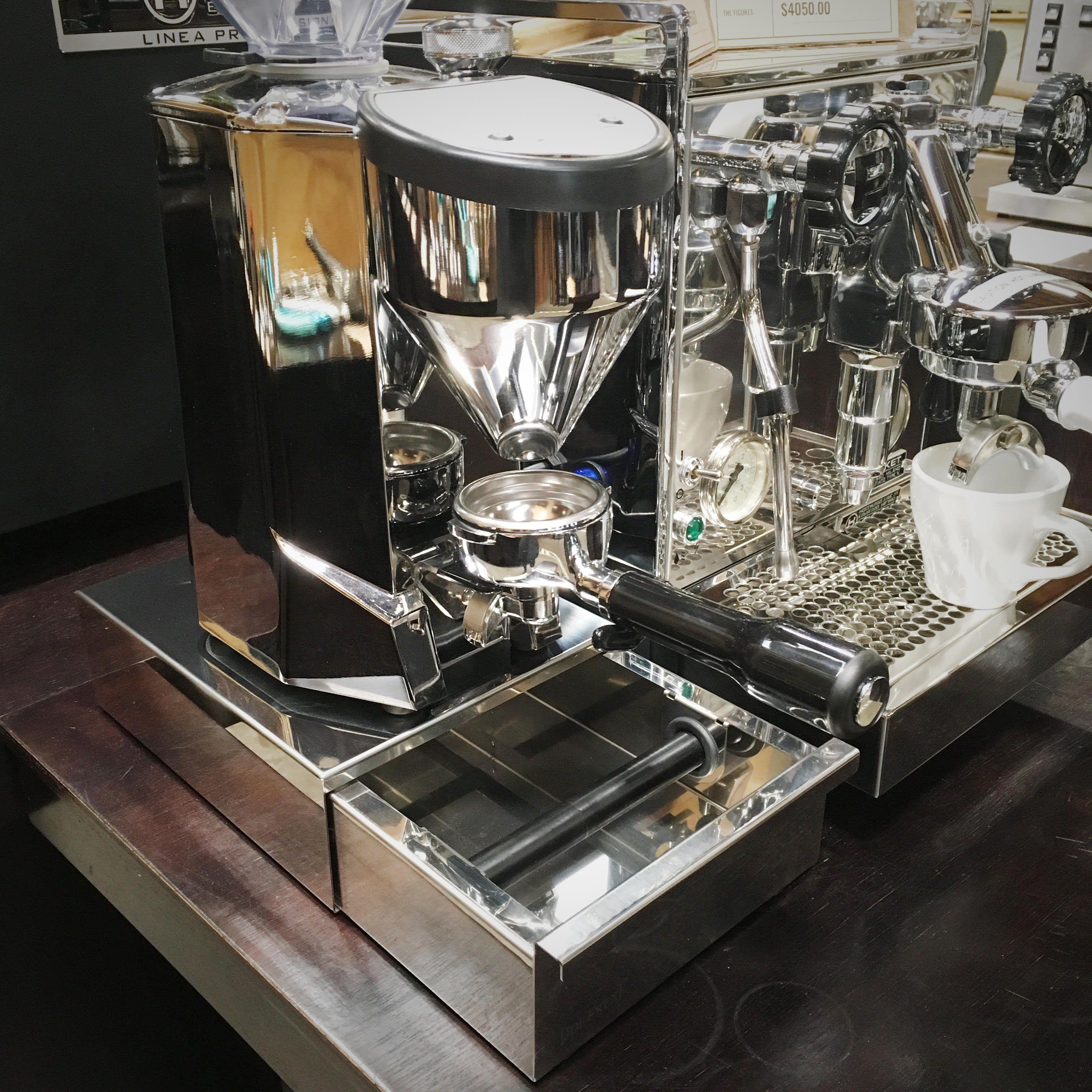 Knock Box Drawer Small Coffee Coffee Machine Drawers