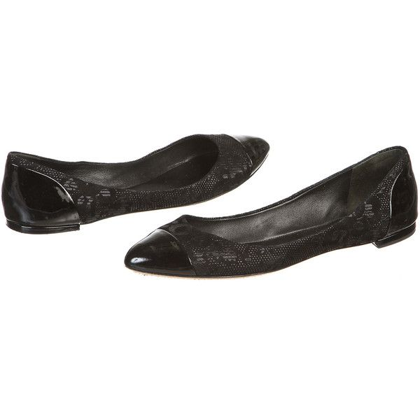 Pre-owned - Leather flats Brian Atwood HRqX1