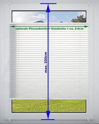 DecoProfi PL01075130 Plissee, verspannt, maximal