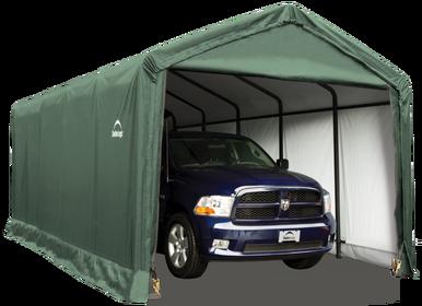 Hilltop Style Garage - promo-shop | Storage shelters ...