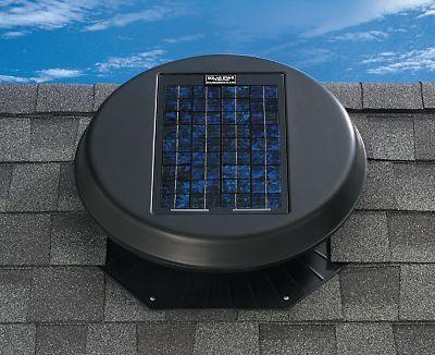 Why You Should Consider A Solar Powered Attic Fan Attic Renovation Solar Roof Solar Panels