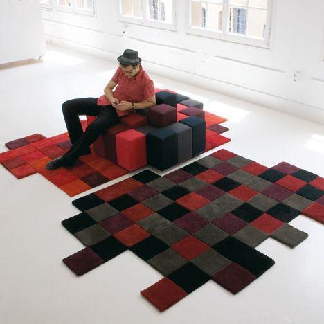 Ten Unique Rugs That Can Spruce Your Decor Unique Rugs Rug Design Creative Flooring