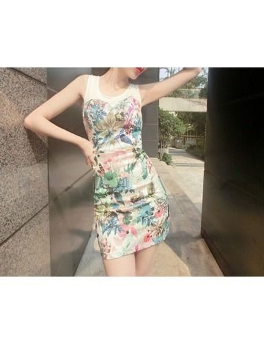 Exclusive custom retro print dress elegance Chinese wind characteristics YH15033013http://www.clothing-dropship.com