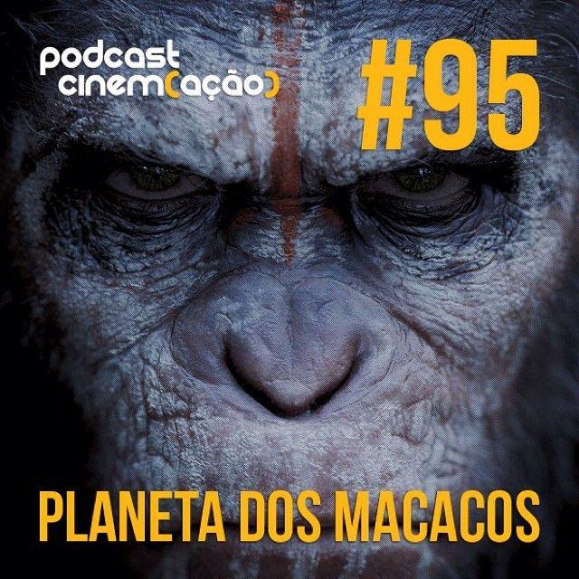 Podcast Cinem(ação) #95: O Planeta dos Macacos No Podcast Cinem(ação) #95, Rafael Arinelli, Daniel Cury e Henrique Rizatto vão conversar sobre a franquia Planeta dos Macacos, contando a história dos filmes, curiosidades e claro falarão tudo sobre o novo filme. >> Ouça: http://bit.ly/1uBrttw >> iTunes do Cinem(ação): http://bit.ly/1gBzm7t