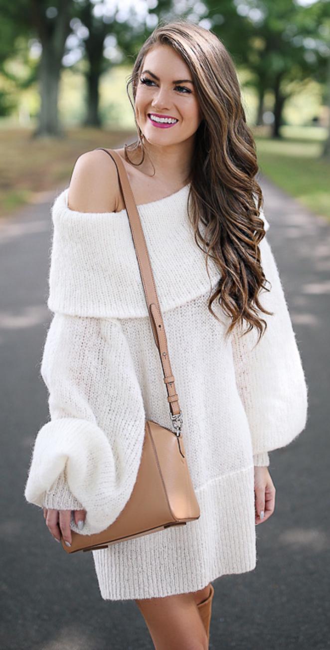 oversized sweater dress | * Fashion Desire | Pinterest | Street ...