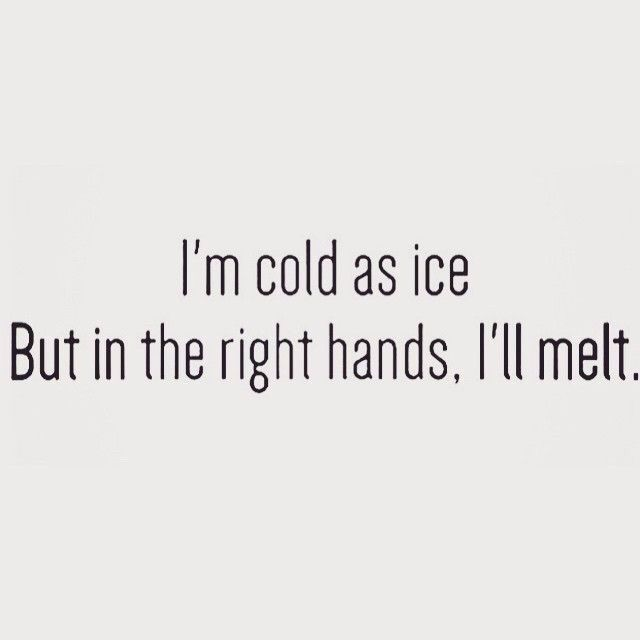 Cold On The Outside But The Warmest Person On The Inside Things
