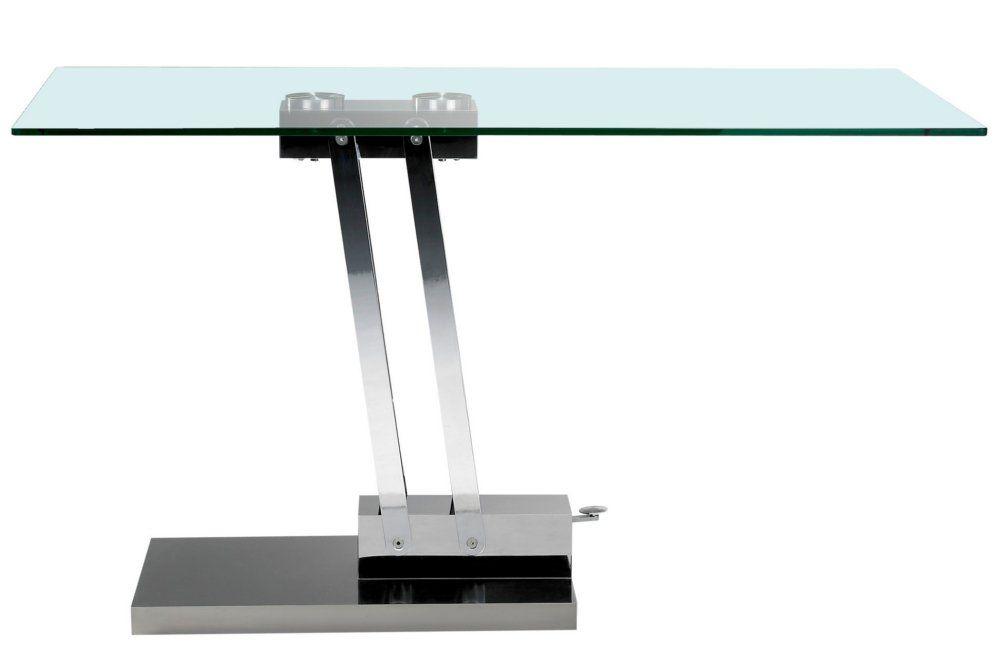 table basse relevable bravo en verre transparent httpwwwinside75 comtablesetchaisestablesrelevablestable relevable francaise bravo verre transparent - Inside75 Table Basse