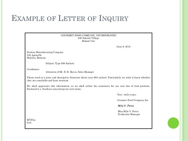 business letters example inquiry letter enquiry sample product - business inquiry letter sample