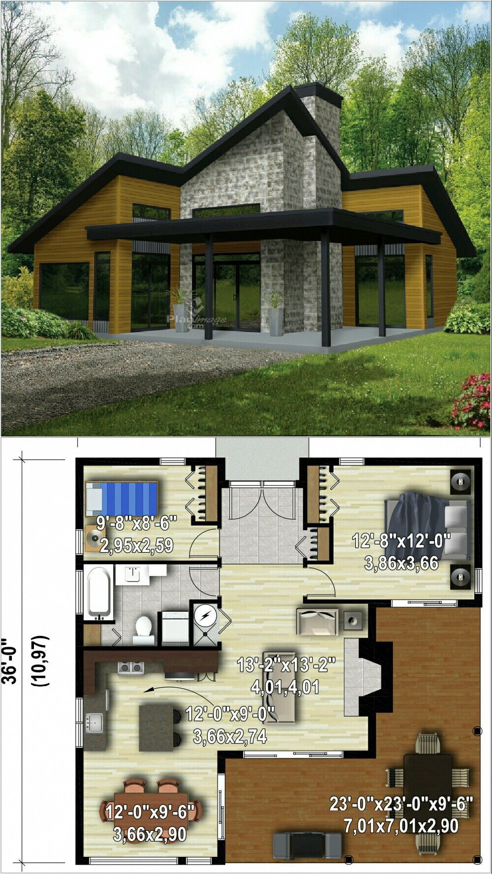 Free Home Architecture Design 2020 In 2021 Sims House Design Architectural House Plans House Architecture Design