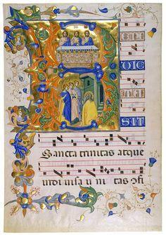 illuminated chant manuscript - Google Search