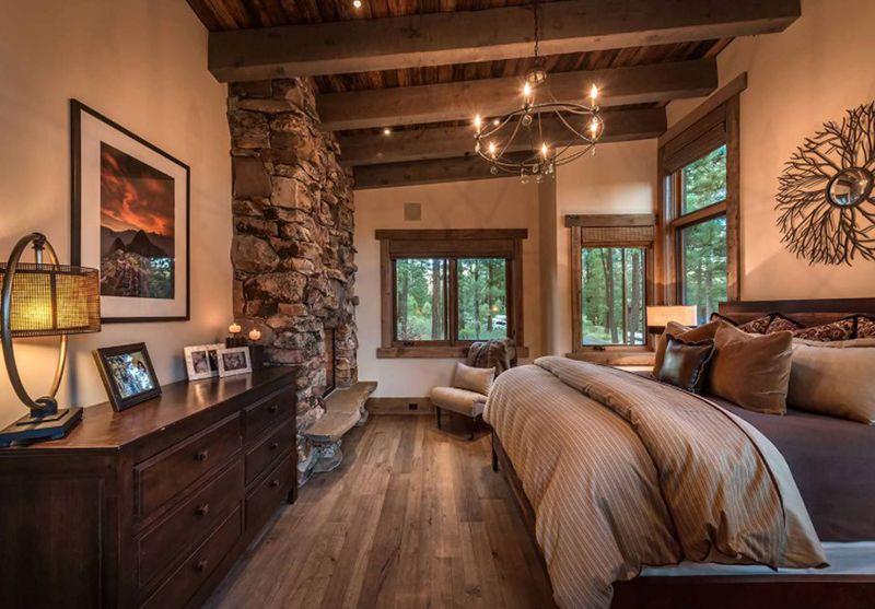 20 Warme Und Gemutliche Moderne Rustikale Schlafzimmer Chambre