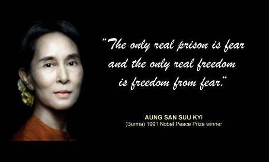 Aung San Suu Kyi Quote Leadership Quote Quotes