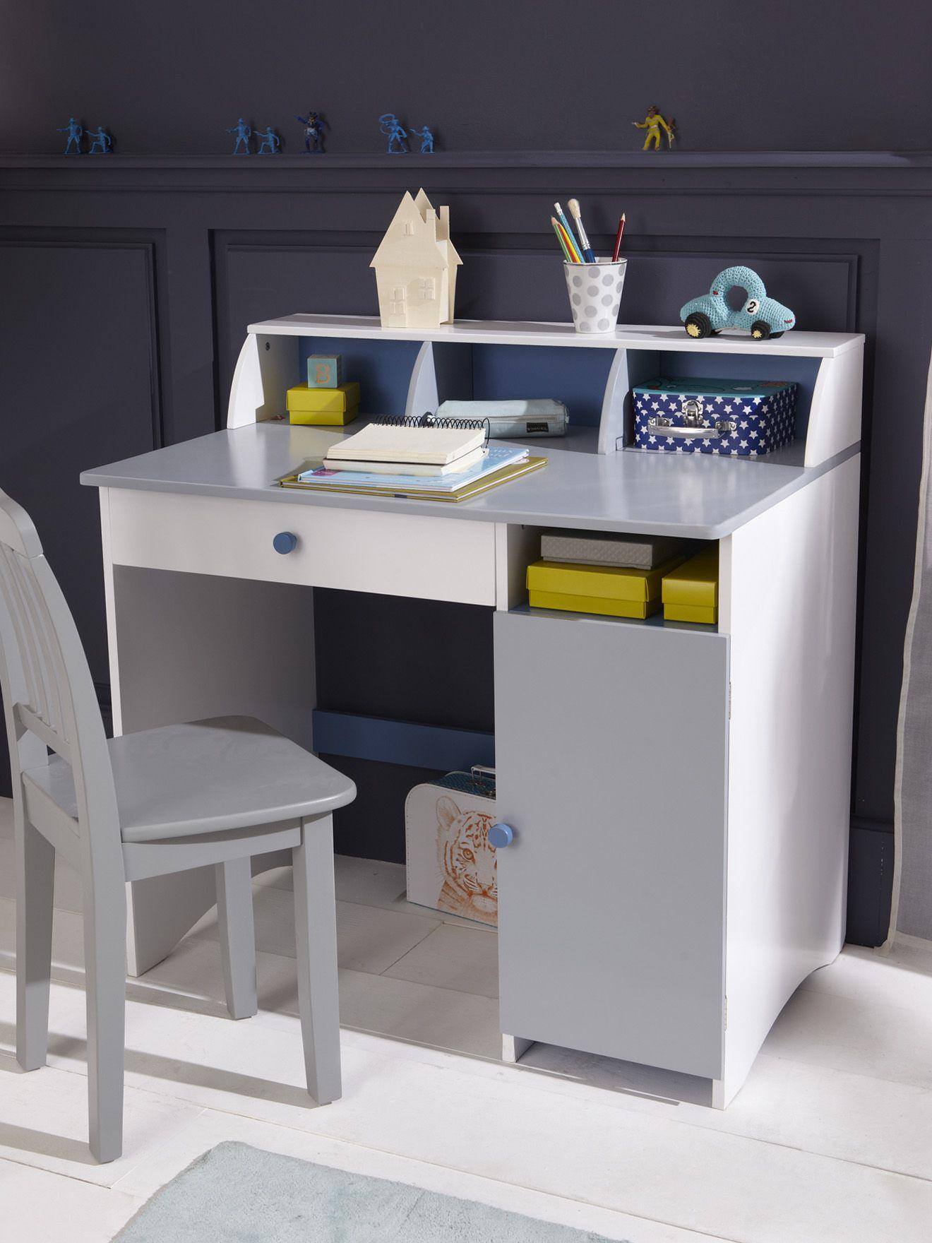 grand bureau tricolore enfant collection printemps t 2014 kids. Black Bedroom Furniture Sets. Home Design Ideas