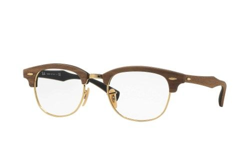 50e5499a68 Ray Ban Clubmaster Eyeglasses RB5154M 5154-M 5560 Gold RayBan Optical Frame  51mm
