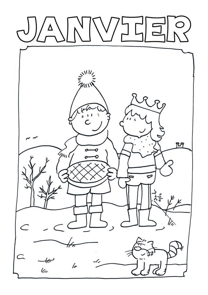 Pingl par elisabeth sur maternelle galette et roule - Image roule galette imprimer ...