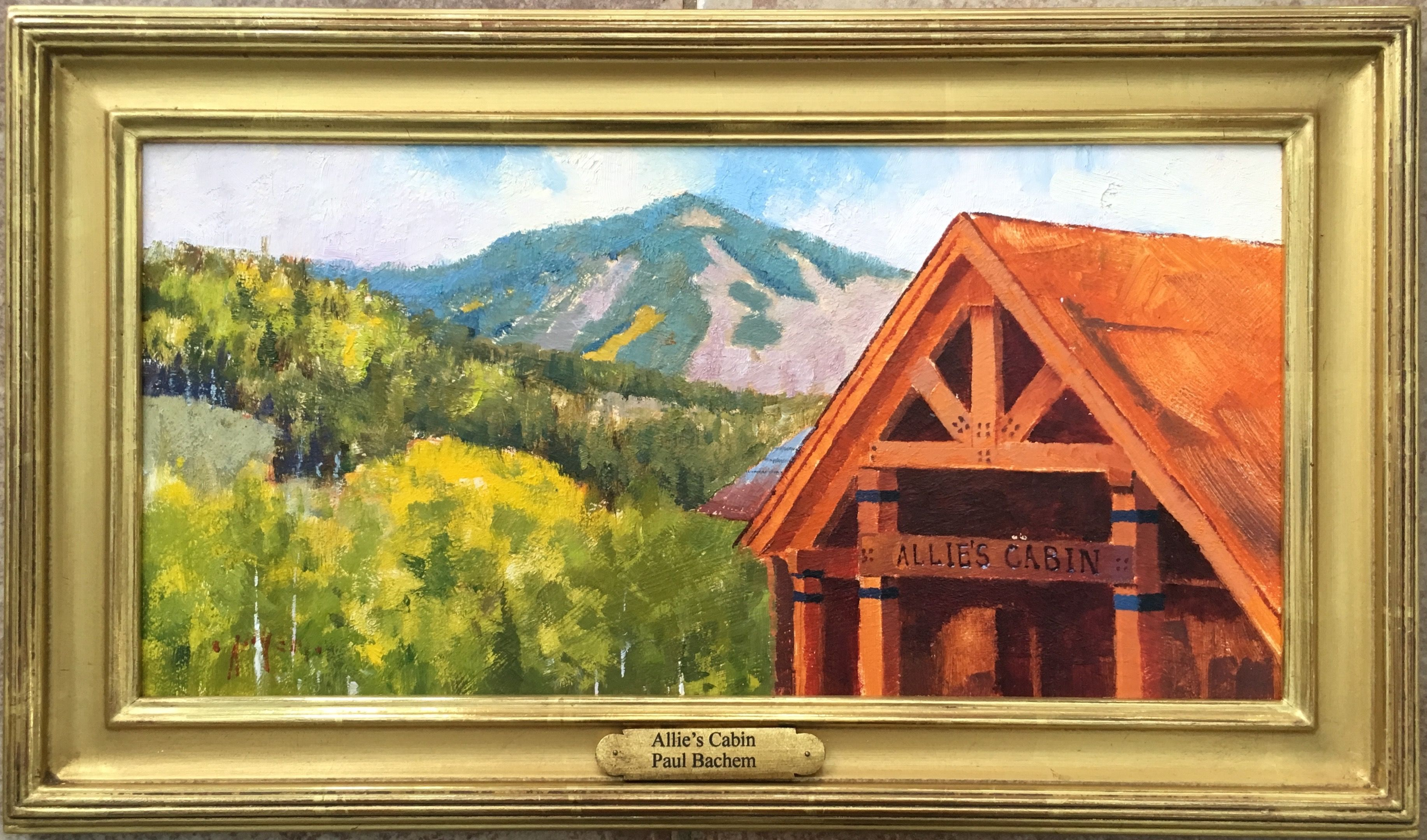 Paul Bachem Allie S Cabin 2015 Commissioned As A Wedding Gift